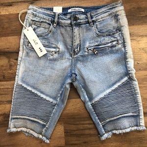 Other - Embellish jean shorts